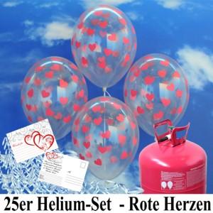 Set aus Luftballons zur Hochzeit